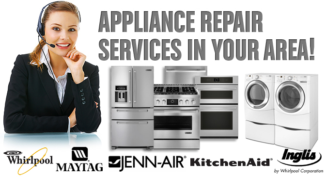 Appliance repair in Ajax, Pickering, Whitby, Oshawa, Bowmanville